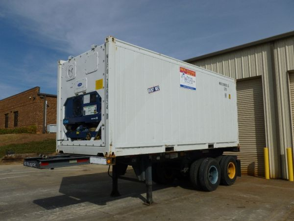 20 Foot Refrigerated Trailer Dimensions