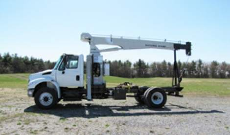 Truck Crane Rentals in Acworth and Rome, GA