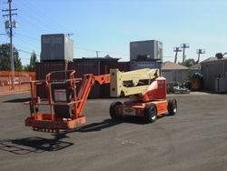 Articulated Boom Lift Rentals in Edmonton, Alberta