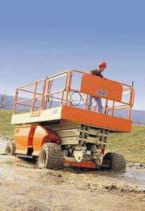 Seabrook Gas Scissor Lifts for Rent