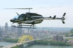 Boston Private Charter Helicopter Rentals -  Bell Long Ranger Helicopter - Massachusetts Charter Helicopter Services