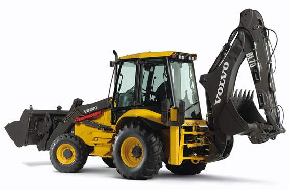 Volvo Back Hoe Loader from BlueLine Rental Tulsa