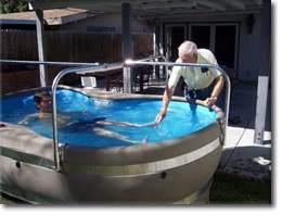 Iowa Rehabilitation Pool Rentals Vertical Exercise Pools