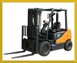 Warehouse Forklifts for Rent