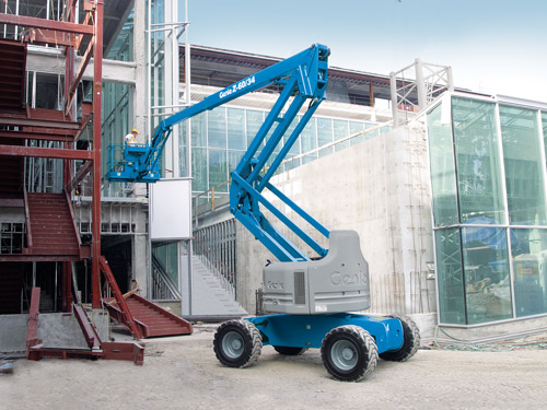 Genie 60/34 articulated knuckle lift