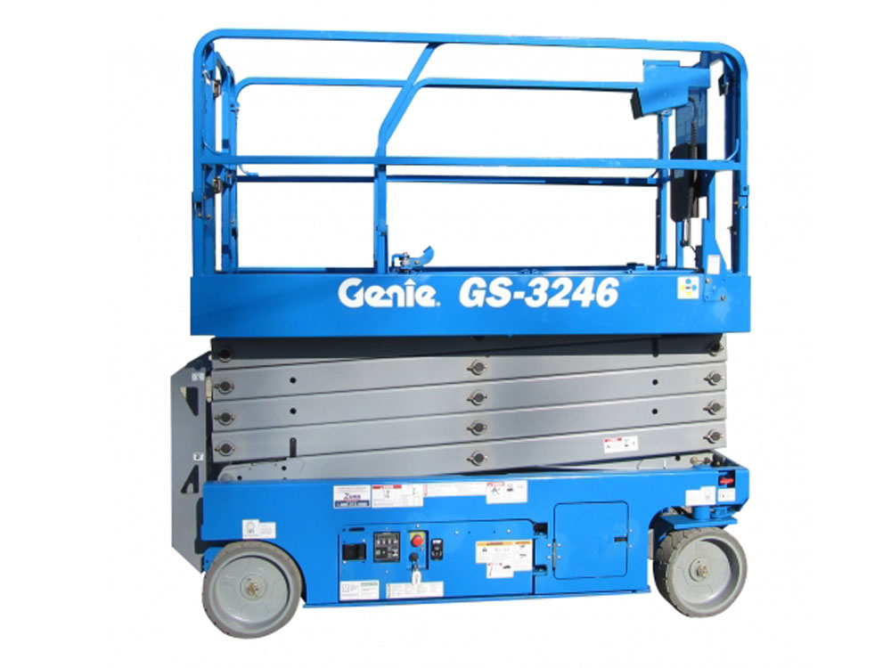 Where to Rent Genie Electric Scissor Lifts Edmonton, AB