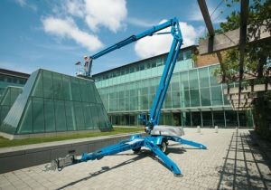 Genie TZ50 Articulating Towable Boom Lift Edmonton, AB