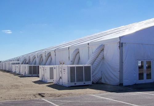 Industrial Tent For Rent In Kansas City