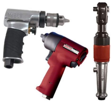 Compressed Air Tool Rental in Texas