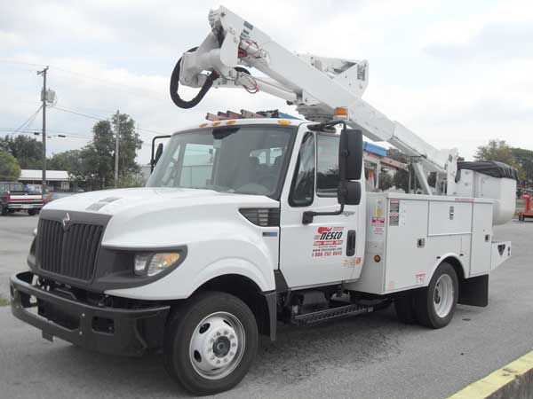 bucket truck rental rates in Philadelphia