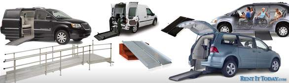 Rent  Wheelchair Ramps and Accessible Vans