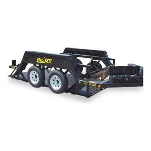 Dual Axle Hydraulic Equipment Trailer
