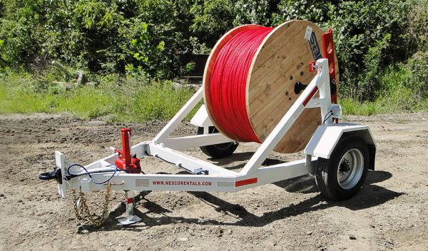 Local Utiltiy Reel Cable Trailer Rentals in Philadelphia Pennsylvania