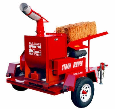 Kansas Straw Blower Rental