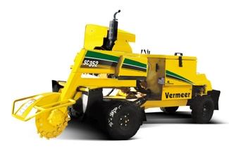 Stump Grinder Easily Take Stumps Below Ground Level