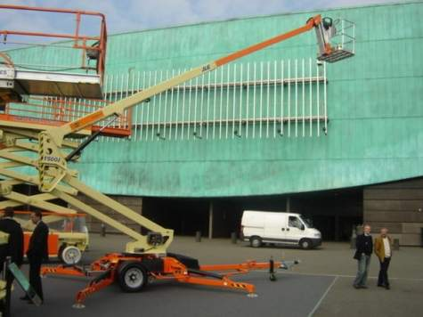 Towable Boom Lift Rentals in Chattanooga, Tennessee