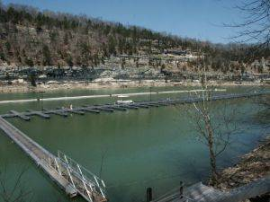 View of Lake Cumberland by the Dock