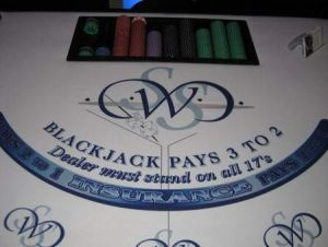 Blackjack Tables Available To Rent
