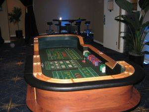 Craps Table For Rent in Detroit Michigan