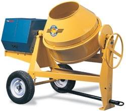 Portable Concrete Mixer Rentals in Richmond, Virginia