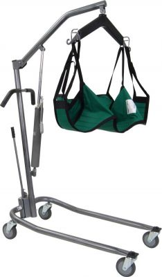 Patient Lift With Adjustable Base