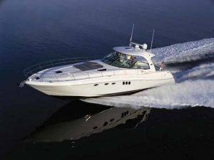 Miami Luxury Yacht Charter Rental-54ft Sea Ray Sundancer Boat for Rent