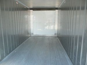 Interior View of Refrigerated Trailer