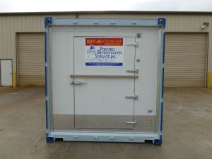 20ft Portable Walk In Refrigerated Storage Unit For Rent Peoria IL