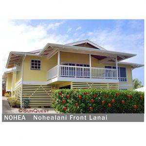 Nohealani Hale Beach House for Rent-Hawaii
