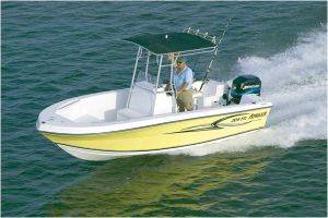 Key West Angler 204 Deck Boat For Rent in FL