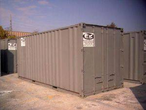 20 ft mobile storage unit