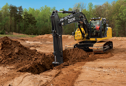 John Deere Excavators For Rent  Edmond, OK