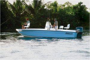 Key West Angler 22 Grande Bay Boat For Rent-Florida