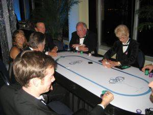 Poker Table Rentals in Milwaukee Wisconsin