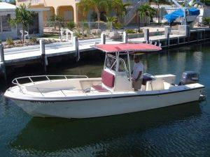 23 Foot Mako Boat Rental in Marathon, Florida