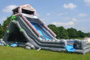 Inflatable dry slide rental Columbus Ohio