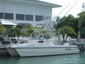 27ft Seacat Boat Rental in Florida Keys
