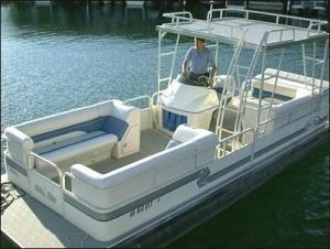 pontoon boat rentals on lake norfolk