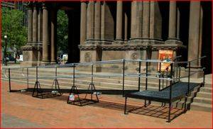 Washington DC Commercial Wheelchair Ramp Rentals