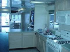 House Boat for Rent Kitchen in Dale Hollow Lake, KY