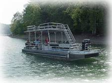 Deluxe 90 HP Pontoon Boat Rentals in Dale Hollow Lake, KY