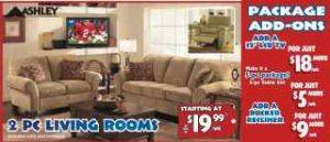 2 piece living room package with ADD-ONS