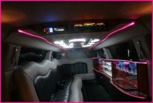 Chrysler 300 Limousine Rental Interior