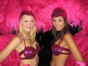 Show Girls For Hire from Michigan Casino and Poker Rentals
