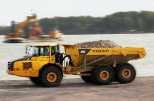 Newark Articulated Dump Truck Rentals in New Jersey