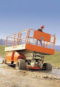 Gas Scissor Lifts for Rent