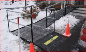Denver  Handicapped Ramp