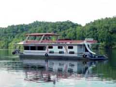 80' House Boat For Rent on Lake Dale Hollow in Kentucky