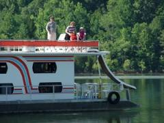 80' Escapade Houseboat for rent on Lake Dale Hollow, KY