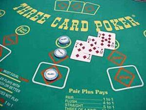 Three card poker table rental in Pennsylvania